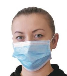 Mask-Surgical Mask Blue EACH