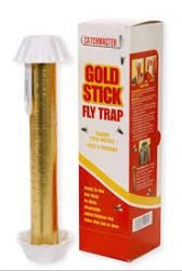 Gold Stick Fly Trap