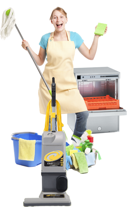 The Cleaning House - Cleaning Lady